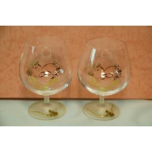 11  Svadobné poháre ručne zdobené