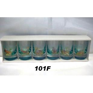 35ml poháre poľ motív farba