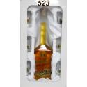 Fľaša výročie s pohármi poľovnícky motív