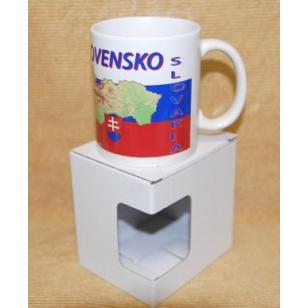 Hrnček s fotkou Slovensko