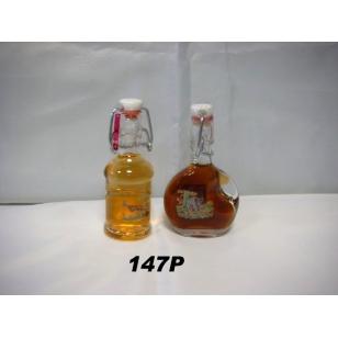 Fľaša 40ml poľovnícky motív plnená