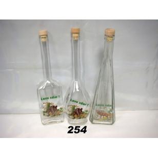 Fľaša 5dl poľ motív