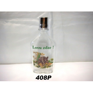 Fľaša ťapka 2dl poľ motív