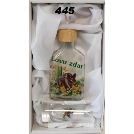 Fľaša 1dl pohárik poľ mot