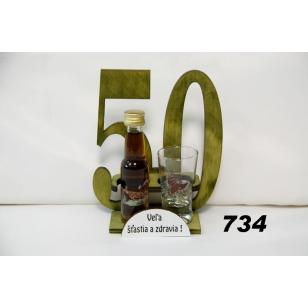 Drevo výročie fľaša s medovinou pohár poľovnicka