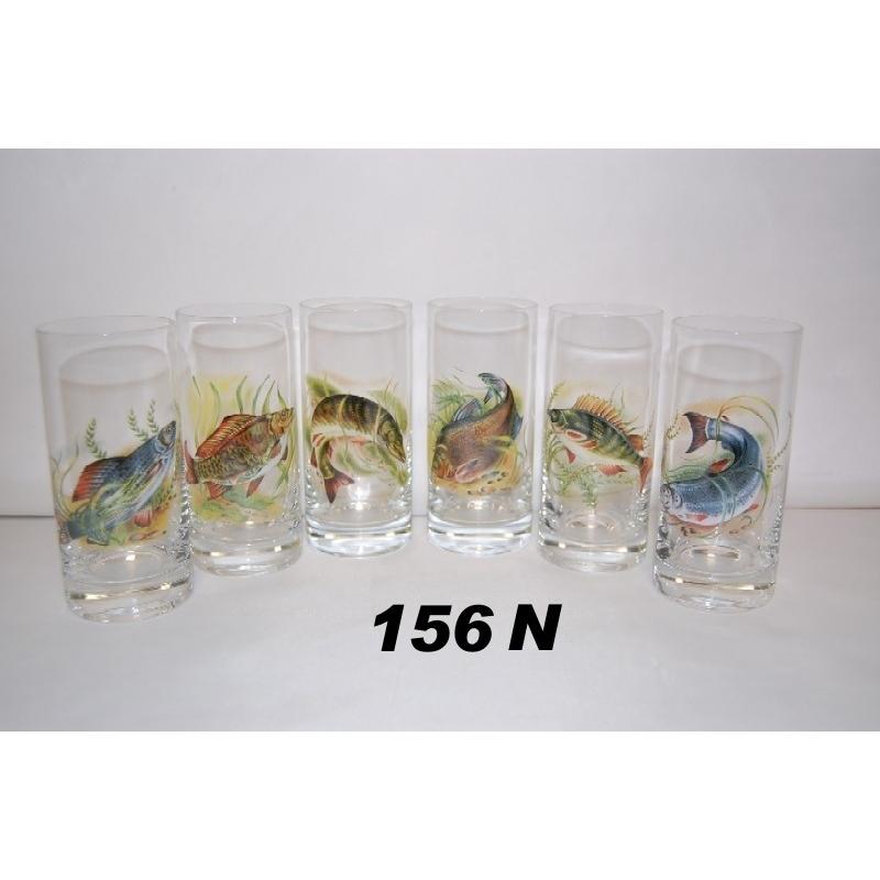 3dl poháre ryb.motív