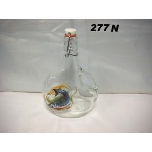 Fľaša 5dl ryby